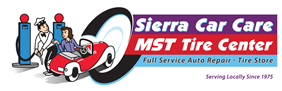 Sierra Car Care and MST Tire Center Logo