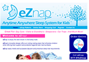 eZnap Web Site Designed by Mystic Design and Print