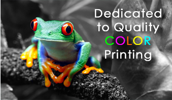 Dedicated to Quality Color Printing