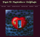 Paul Manktelow Originals Web Site Designed by Mystic Design and Print