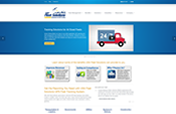 USA Fleet Solutions Web Site Designed by Mystic Design and Print